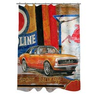 Muscle Cars II Shower Curtain