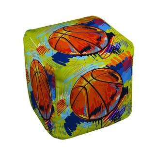 Basketball Slam Dunk Pouf