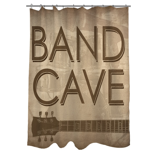 Shop Band Cave Shower Curtain