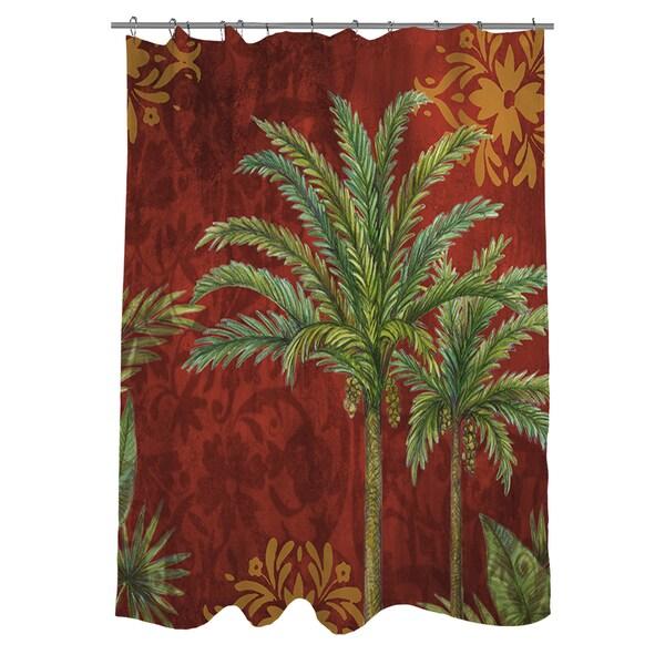 Palms Pattern I Shower Curtain