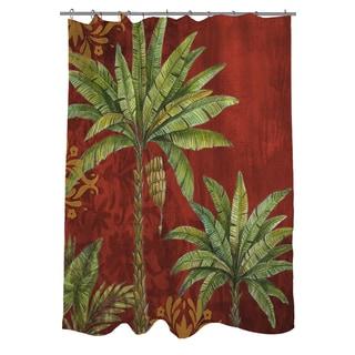 Palms Pattern II Shower Curtain