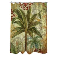 Palms Pattern III Shower Curtain