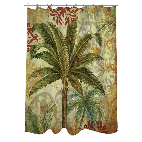 Palms Pattern III Shower Curtain
