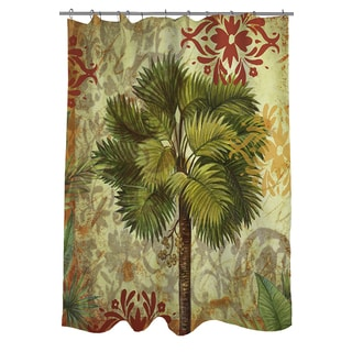 Palms Pattern IV Shower Curtain