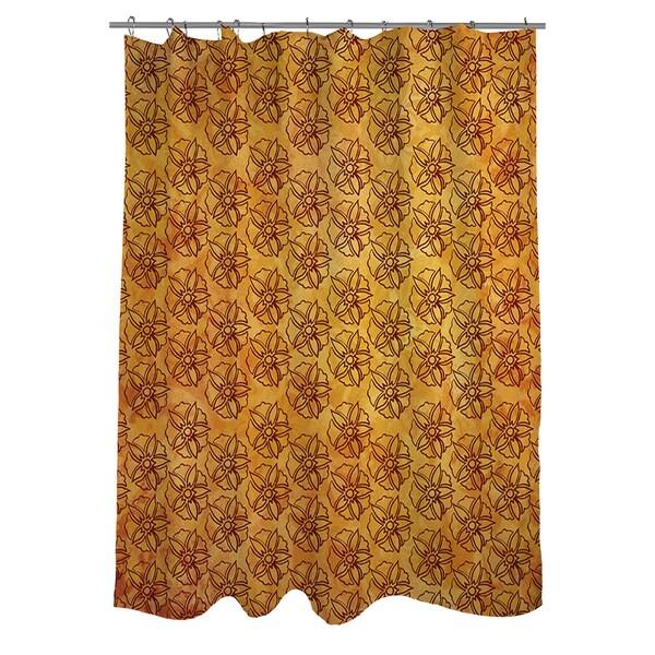 Palms Pattern IX Shower Curtain