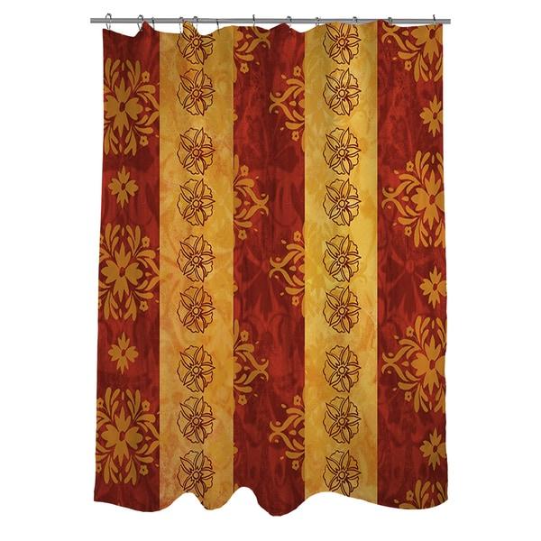 Palms Pattern VIII Shower Curtain