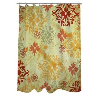 Palms Pattern X Shower Curtain