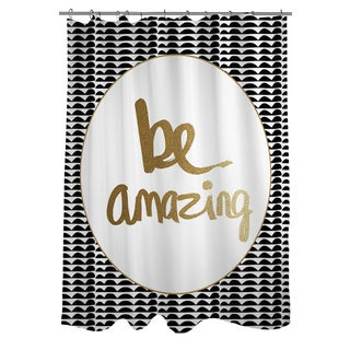 black and gold shower curtain. be amazing black and gold shower curtain