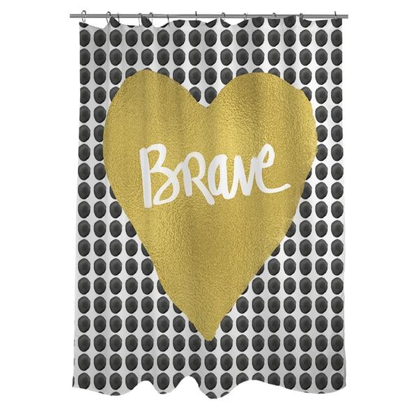 Brave Heart Shower Curtain