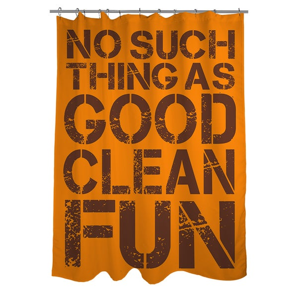 No Such Thing Shower Curtain