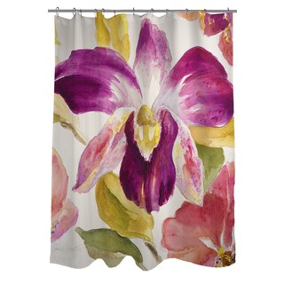 Thumbprintz Radiant Orchid Shower Curtain