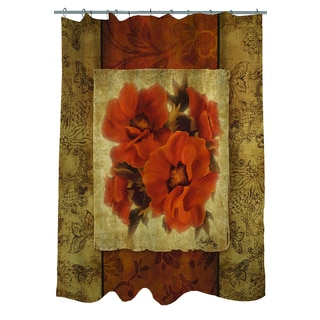 Spice Flower II Shower Curtain