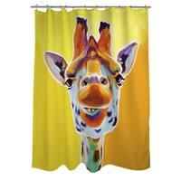 Giraffe No 3 Shower Curtain