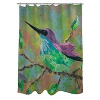 Hummingbird Shower Curtain