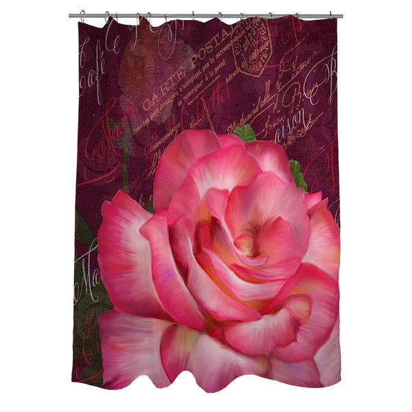 Paris Bistro I Shower Curtain