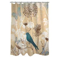 Laurel Creek Kiowa Polyester Bird Shower Curtain