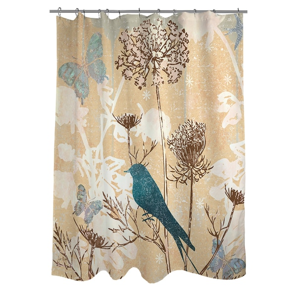 Shop Queen Annes III Shower Curtain - Free Shipping Today ...