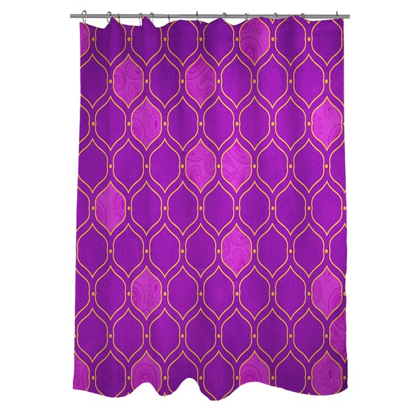 Moroccan Pattern 8 Shower Curtain