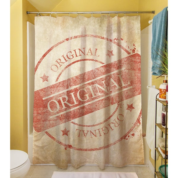 Stamp Approved Shower Curtain