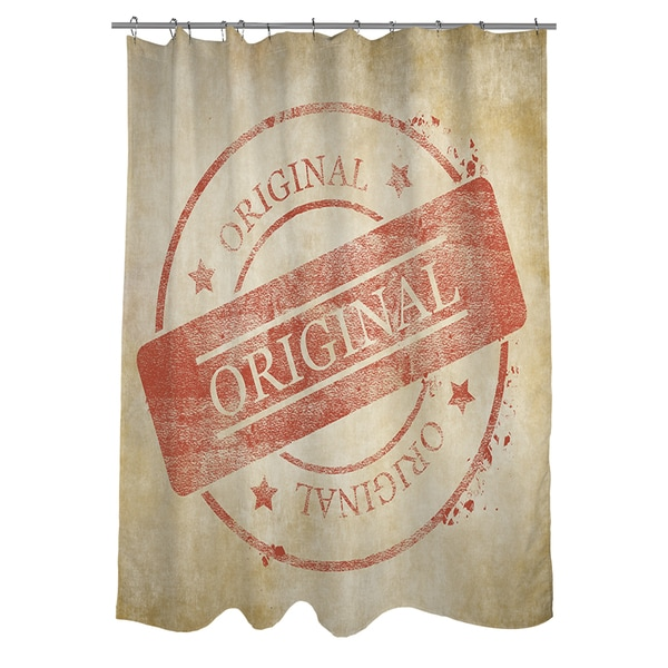 Stamp Original Shower Curtain