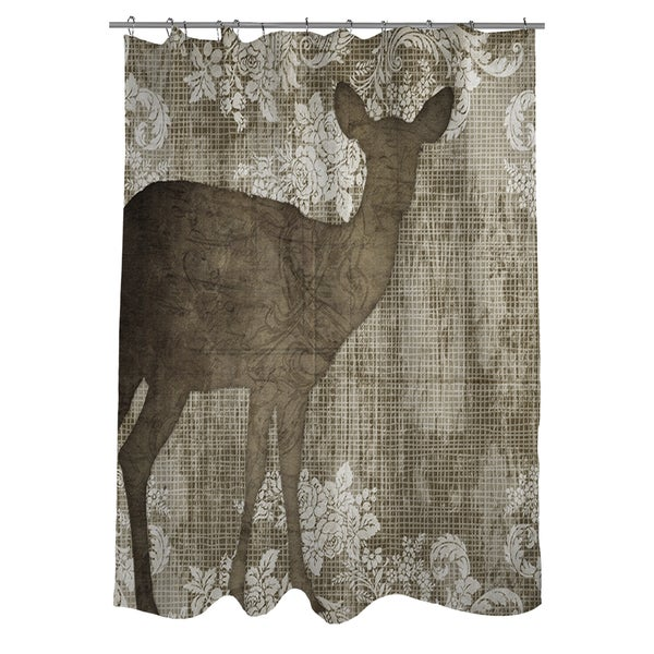 Alpine Visitor Shower Curtain