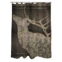 Deer Elegance Shower Curtain