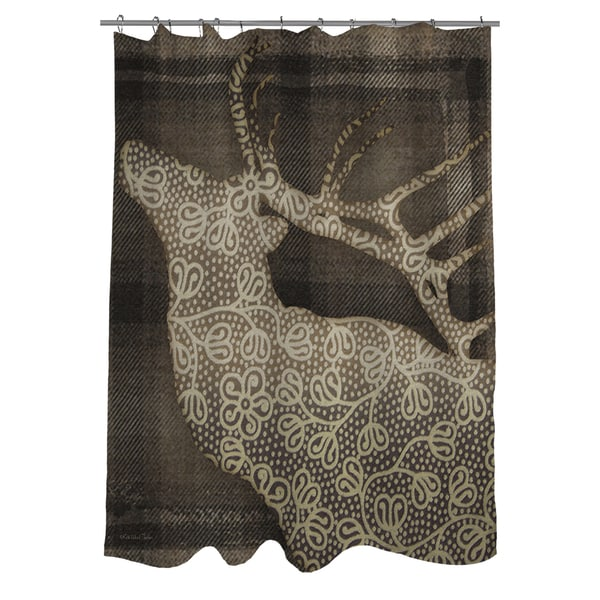 Deer Elegance Shower Curtain