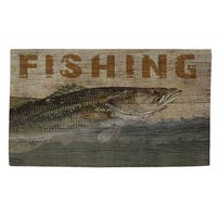 Fishing Rug - multi