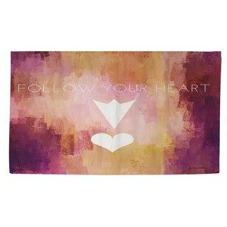 Follow Your Heart Rug (4' x 6')