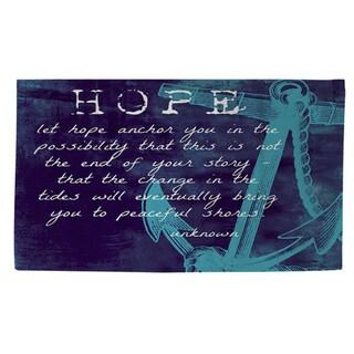 Let Hope Anchor You Rug