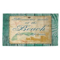 Memories at the Beach Rug - 2' x 3'