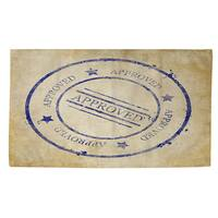 Stamp Approved Rug (4' x 6')