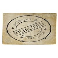 Stamp Rejected Rug (4' x 6')