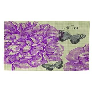Thumbprintz Butterflies and Peony Rug (2' x 3')