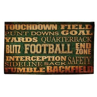 Football Words Rug