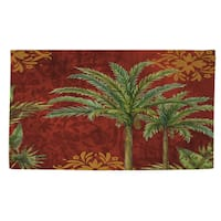Palms Pattern I Rug (2' x 3')