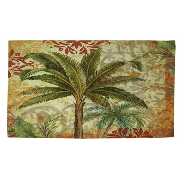 Palms Pattern III Rug (2' x 3')