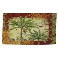 Palms Pattern V Rug (2' x 3')