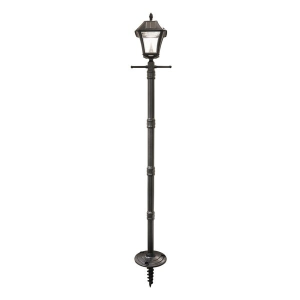 Gama Sonic Baytown II Solar L& Post and LED L& Head with EZ-Anchor Base  sc 1 st  Overstock : ez led lighting - azcodes.com