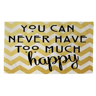 Never Too Much Happy II Rug (2' x 3')