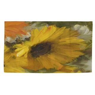 Sunflowers Square II Rug (4' x 6') - 4' x 6'
