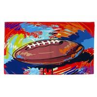Football Touchdown Rug