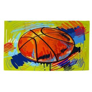 Thumbprintz Basketball Slam Dunk Rug (4' x 6')