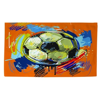 Thumbprintz Soccer Goal Rug (4' x 6')