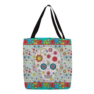 Thumbprintz Sugar Skull Colored Box Tote