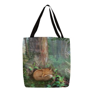 Thumbprintz Conifer Lodge Fox Tote
