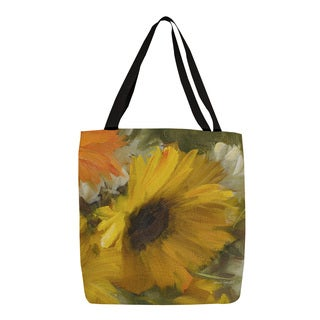 Thumbprintz Sunflowers Square II Tote
