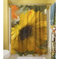 Sunflowers Square II Shower Curtain