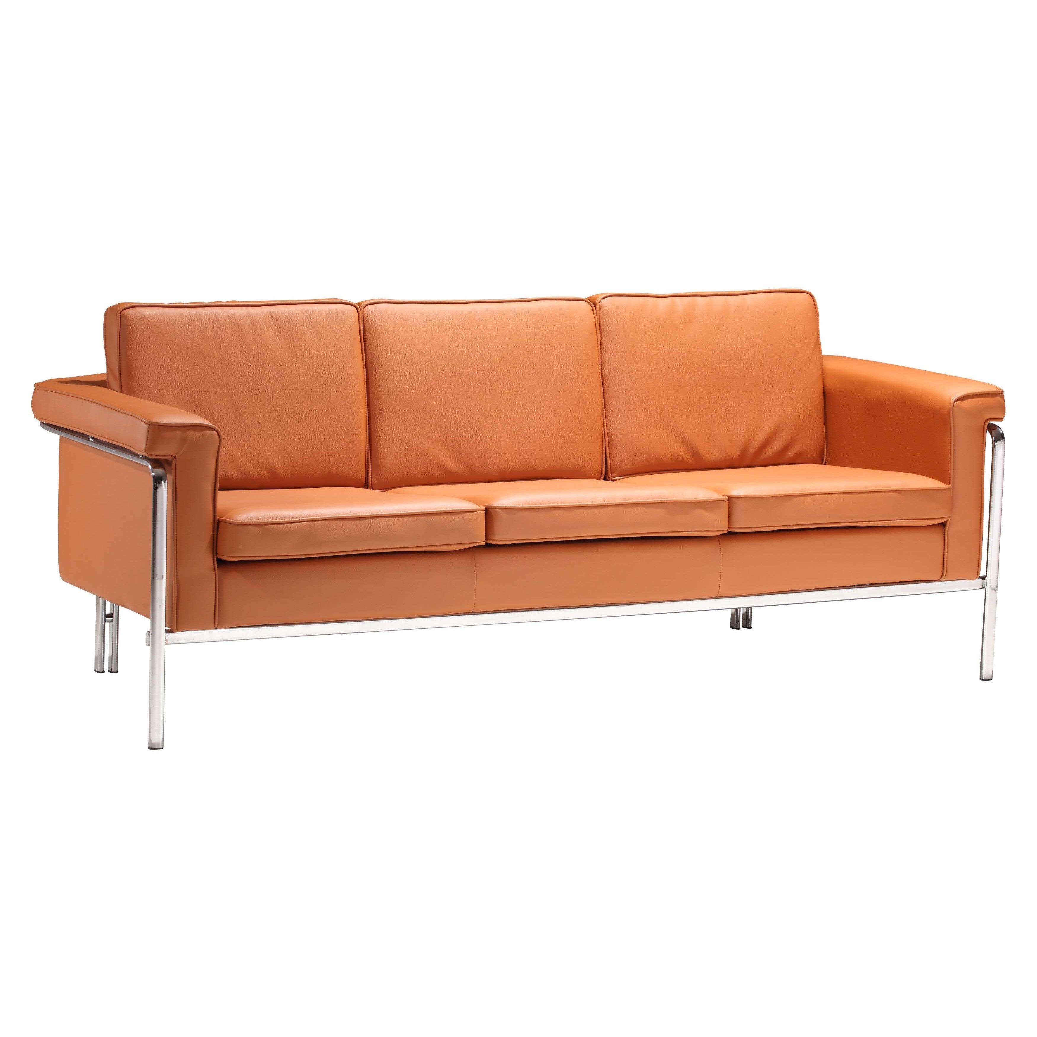 Singular Sofa (Option: Orange)