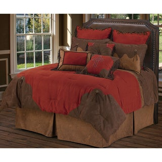 HiEnd Accents Red Rodeo 5-Piece Comforter Set